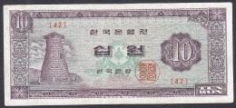 Korea/Republic:- 10 Won/P.33c (1964):- F - Korea (Süd-)