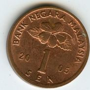 Malaysie Malaysia 1 Sen 2005 KM 49 - Malaysie