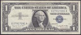 USA/Silver Certificate:- 1 Dollar/P.419a (1957A):- F - Silver Certificates (1928-1957)