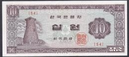Korea/Republic:- 10 Won/P.33c (1964):- VF+ - Korea (Süd-)