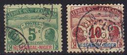 Haut-Sénégal & Niger Timbre Taxe N° 1, 2 - Alto Senegal E Niger (1904-1921)