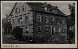 Ansichtskarte Lauf In Baden Gasthaus Zum Rössel Bes. H. Moser - Deutschland