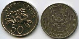 Singapour Singapore 50 Cents 1991 KM 53.2 - Singapour