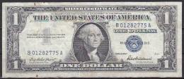 U.S.A/Silver Certificate: - 1 Dollar /P.419 (1957):- F - Silver Certificates (1928-1957)