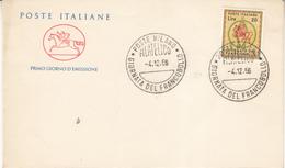 Poste Italiane Giornata Del Francobollo Milano 1966 - 1946-.. République
