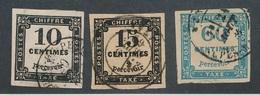 BM-370: FRANCE:   Lot  Avec N°2-3-9 - 1859-1955 Used
