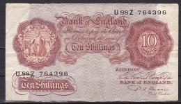 UK/Bank Of England:- 10 Shillings/P.368b (Beale):- VG - …-1952 : Before Elizabeth II