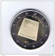 Malta - 2 Euro Commemorativo 2015 - Repubblica - Malta