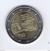 Malta - 2 Euro Commemorativo 2016 - Templi Di Gigantia - Malta