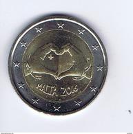 Malta - 2 Euro Commemorativo 2016 - Love - Malta