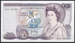UK/Bank Of Englad:- 20 Pounds/P.380b (Page):- EF - 1952-… : Elizabeth II