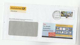 2007 GERMANY Deutsche Post 55c ADVERT POSTAL STATIONERY COVER Illus  BRIEFMARKEN  KOLLEKTION Saarland Anniv Stamps - [7] Repubblica Federale