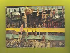 Postcard 1960s GAMBIA ETHNIC HANDCRAFT BLACK NATIVE SELLER AFRICA AFRIKA AFRIQUE - Unclassified