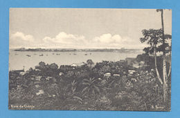 POSTCARD AFRICA S. TOMÉ PARTIAL VIEW OF CITY 1910years  AFRIKA AFRIQUE - Postcards