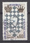 FRANCE 1966 Mi.nr: 1542 Schachspiel  Oblitérés-Used-Gestempeld - France