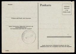A9135 - Bezirk Wandsbek - Stempel 1945 Postkarte - Deutschland