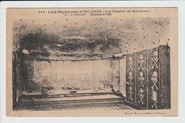 ORLEANS - LOIRET - LOGE MACONNIQUE - LES EMULES DE MONTYON - L'ORIENT - EMPLACEMENT DE L'AUTEL - FRANC MACONNERIE - Orleans