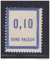 FRANCE FICTIF N°  F27 ** Timbre Neuf Gomme D'origine Sans Trace De Charnière -TB - Phantomausgaben