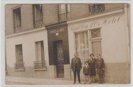 """1 Carte Photo Fressenneville à Situer """" Hotel Papillon D'or """" - France"""