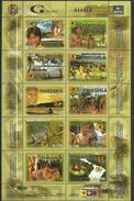Venezuela 2006 The 50th Anniversary Of Guayana Bank.folklore.dancing.child.M/S.MNH - Venezuela