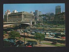 PC 1960s BRASIL BRAZIL SÃO PAULO Cars Car VOLKSWAGEN FORD BUS BUSES AUTOMOBILES - Postcards