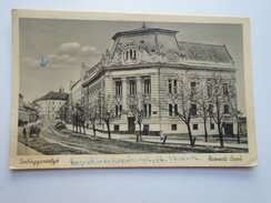 D155225 Romania  Szilágysomlyó Nemzeti Bank - Simleul Silvaniei Ca 1940 - Romania