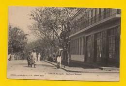 POSTCARD SENEGAL 1910years  DAKAR BOULEVARD NATIONAL SÉNÈGAL AFRIKA AFRIQUE - Postcards