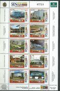 Venezuela 2006 Customs Offices, SENIAT.set Of 10.M/S. MNH - Venezuela