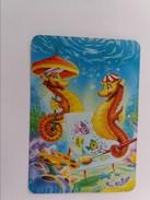 1995 POCKET SMALL CALENDARIO SPAIN. ANIMATION. SEA HORSE. DRAWING. UNDERSEA WORLD. 927a - Kleinformat : 1991-00