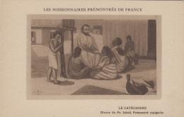 Afrique - Madagascar - Missions Religion - Peinture - Tableau De Frère Isfrid - Catéchisme - Madagascar