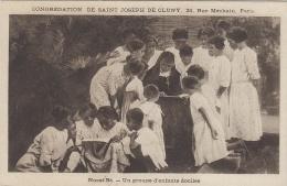 Afrique - Madagascar - Nossi-Bé - Religieuse - Lecture Enfants - Congrégation St Joseph De Cluny Paris - Madagascar