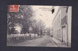 Heutregiville (51) Place De La Mairie ( Animée Futs Champagne ? Vers Paul Dauphin Vavincourt Ed. Wilmet Rethel) - France