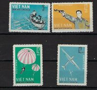 """Viet-Nord YT 388 à 391 """" Jeux Sportifs Militaires """" 1964 Neuf** - Viêt-Nam"""