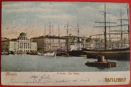 TRIESTE - IL PORTO. DER HAFEN - Trieste