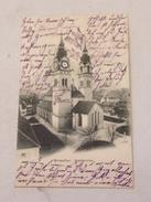 P Carte Postale Suisse Winterthur Stadtkirche 1907 - ZH Zurich
