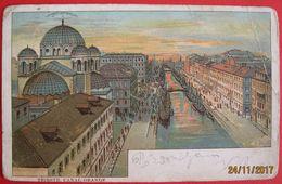 TRIESTE - CANAL GRANDE , VIAGGIATA 1901 - Trieste