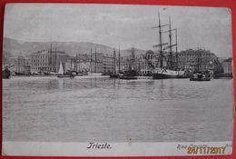 TRIESTE - RIVA CARCIOTTI , VIAGGIATA 1902 - Trieste