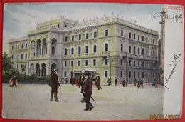 TRIESTE - LUOGOTENENZA, STATTHALTEREI, VIAGGIATA 1907 - Trieste