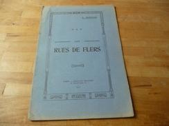 Flers - Rues De Flers 1911 Imprimerie Folloppe - Libros, Revistas, Cómics