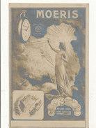 MONTRES MOERIS CARTE POSTALE PUBLICITAIRE   BON ETAT - Pubblicitari