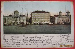 TRIESTE - RIVA CARCIOTTI, VIAGGIATA 1903 - Trieste