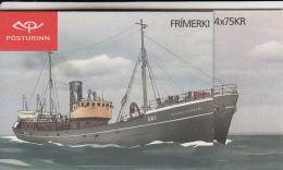 Iceland 2010 Booklet Of 4 Bjarni Riddari GK 1, Ingolfur Arnarson Fishing Boats - Carnets