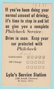 OM.5 USA Entier Postal Repiqué Postal Stationery  Automobile Service Station / Philcheck Service El Reno Okl.26.3.1956 - 1941-60