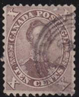 Canada    .    SG   .     36      .       O      .     Gebruikt   .    /      .        Cancelled - Gebruikt