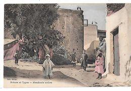 Maroc -  SCENES Et TYPES - MENDIANTS ARABES - Edition SABAS - Carte écrite De KENITRA En Septembre 1924 - Autres