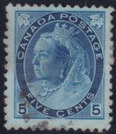 Canada    .    SG   .      157     .       O      .     Gebruikt   .    /      .        Cancelled - 1851-1902 Regering Van Victoria