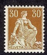SUISSE 1908   Yv 121*    Mi 104* - Suisse