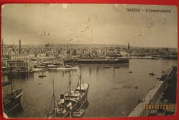 NAPOLI - L'IMMACOLATELLA , Viaggiata 1913 - Napoli
