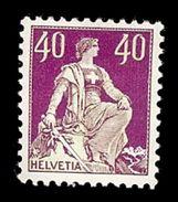 SUISSE 1909   Yv 123*    Mi 106*  Zu 112* - Suisse