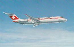 AIRPLANES - Swissair - DC-9-32 - 1946-....: Moderne